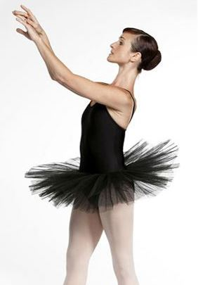 Dámský trikot s přišitou balerínkou - Loverstraptu