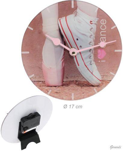 Stolní hodiny 17 cm