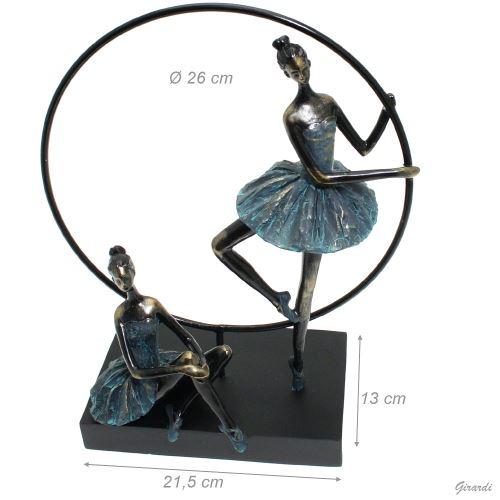 Soška dvou baletek