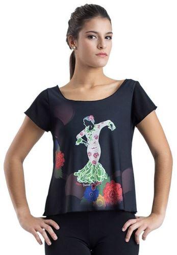 Tričko na flamenco
