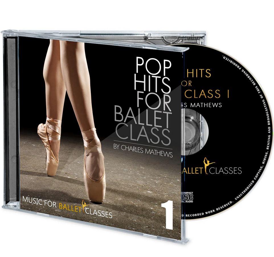Charles Mathews,Populární hudba, baletní trénink - Pop Hits for Ballet Class MBC13C,